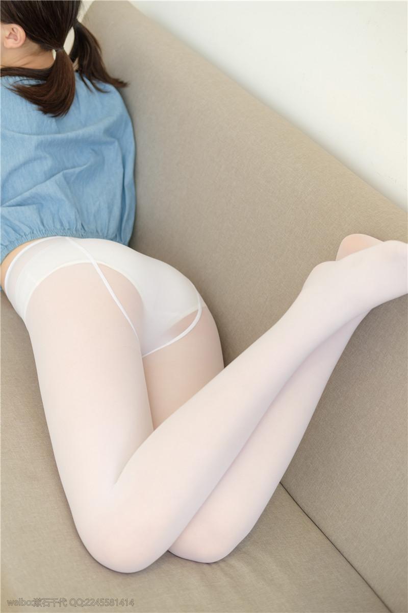 轻兰映画 Blue and White [129P]