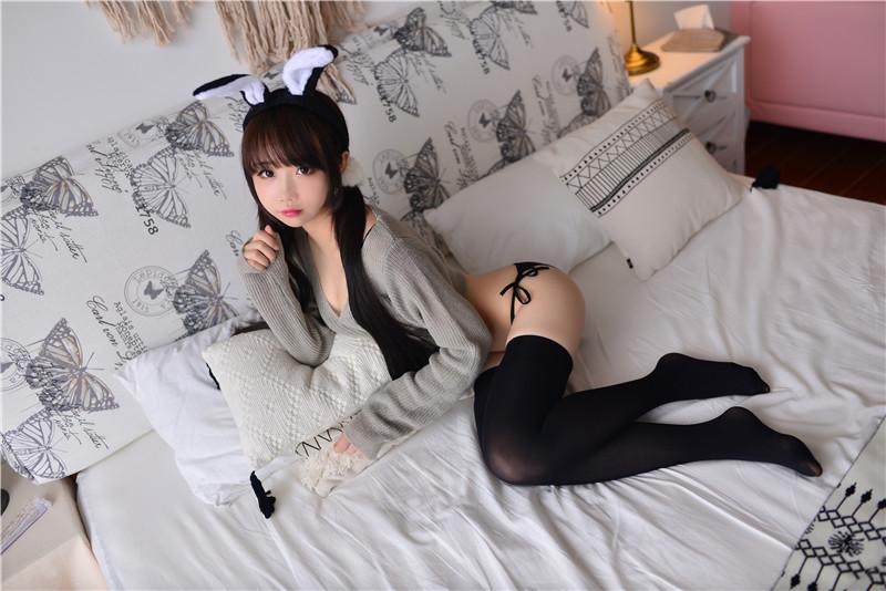 雪琪SAMA – 灰兔兔 [50P]
