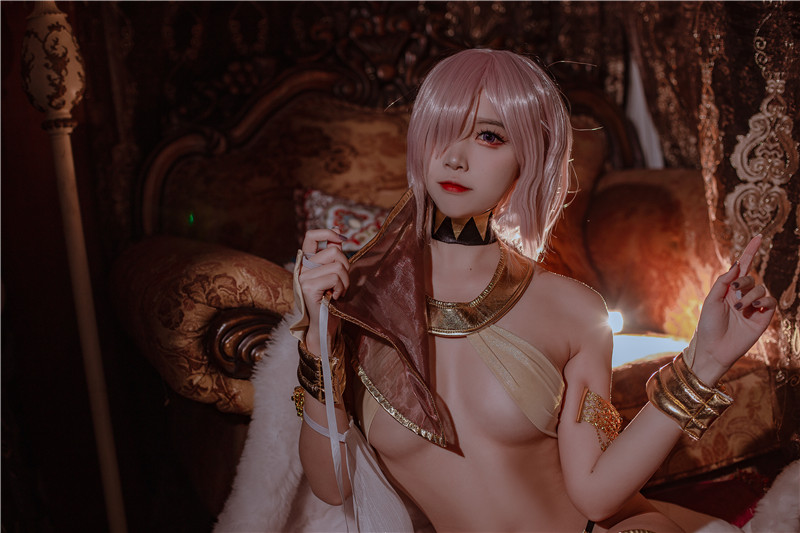 二佐Nisa – fate玛修舞娘 [39P]