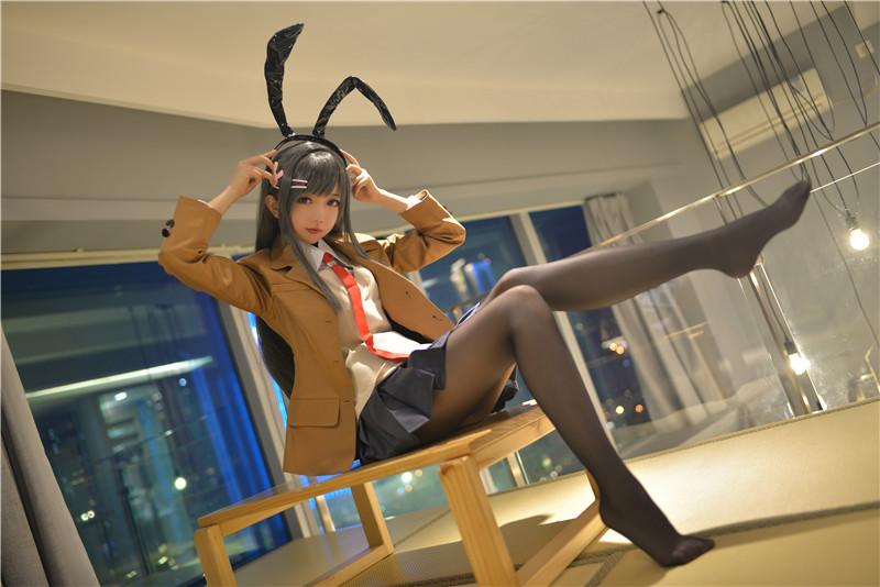 雪琪SAMA – 麻衣制服兔女郎 [58P]