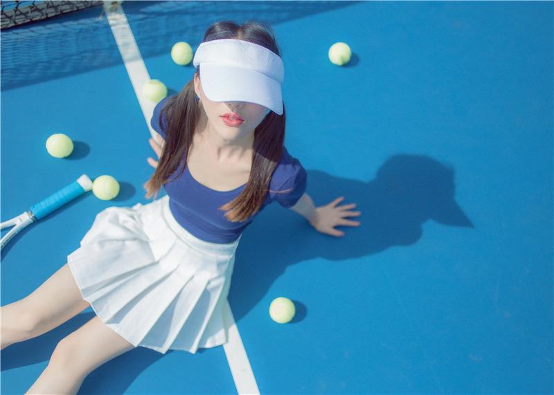 小何童鞋作品 – 小恩 网球经典 [27P]